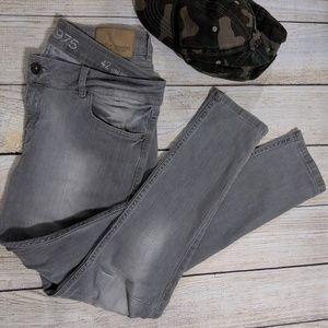 Zara Gray Denim Pants- Size 42